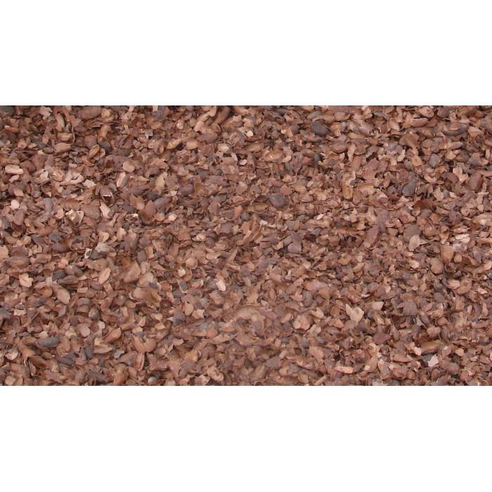 Paillage Coque de cacao - Sac de 120L - Palette de 24 sacs