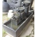 Fontaine indonésienne Artisanale Cascade Zen