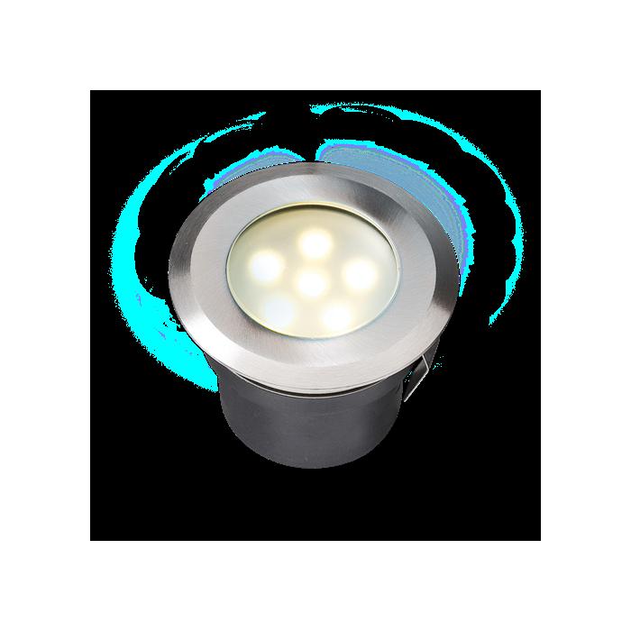 Petit spot lumineux SIRIUS en inox 12 volts