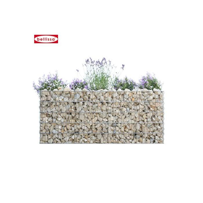 Mur anti-bruit végétalisable en Gabion