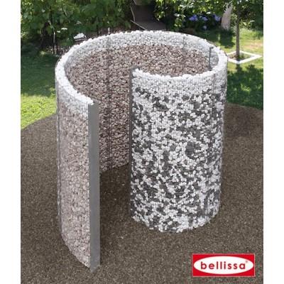 Colonne de douche en spirale - Gabion 230 x 180 x 210 cm