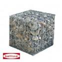 Cage de pierres gabion, 50 cm 100 cm et 150 cm