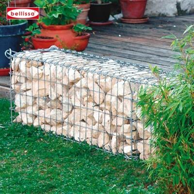 Petite Cage de pierres en Gabion décoration