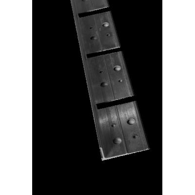 Bordures de jardin Aluminium en L - Lot de 5