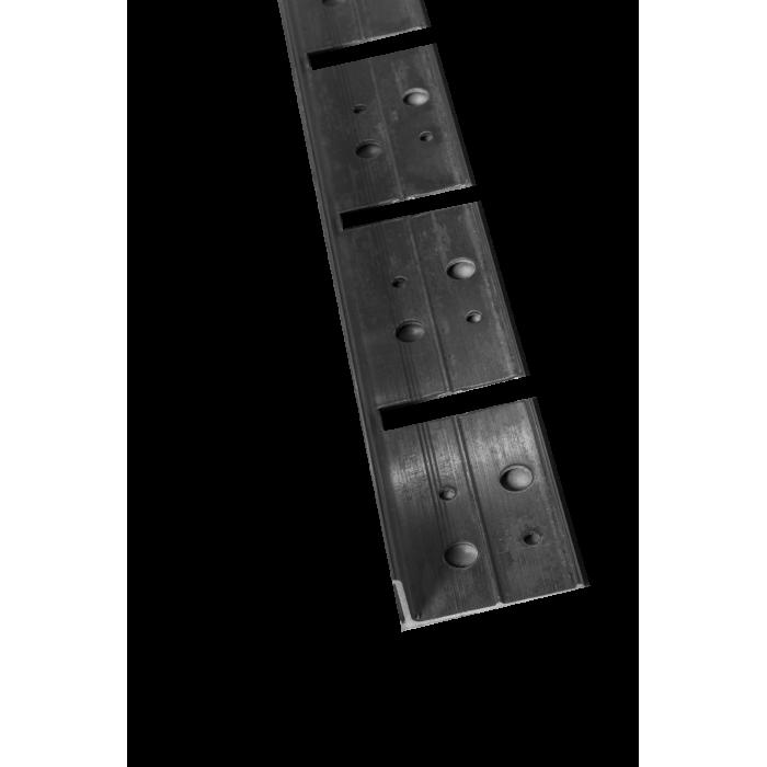 5 Bordures de jardin Aluminium en L