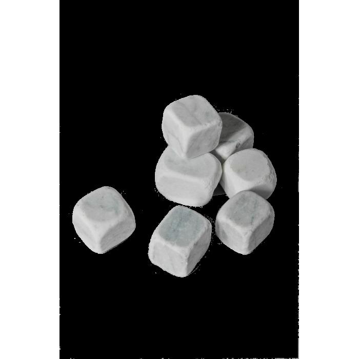 Paillage cubes de marbre déco (Plusieurs coloris) - Sac de 20Kg - Palette de 10 sacs
