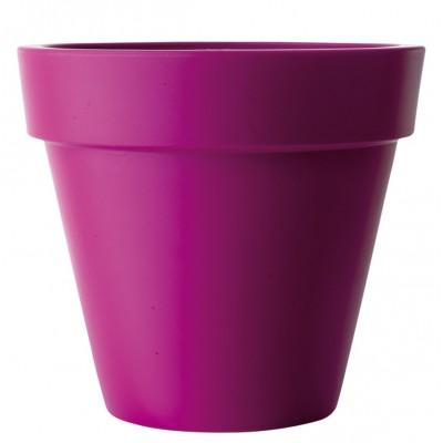 Pot de fleurs coloré Pure Round