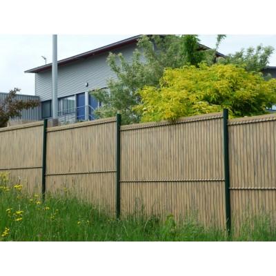Poteau droit pour clôture et grillage - Hauteur de 1,30m à 2,40m