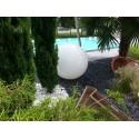 Boule lumineuse de jardin pour décoration extérieure