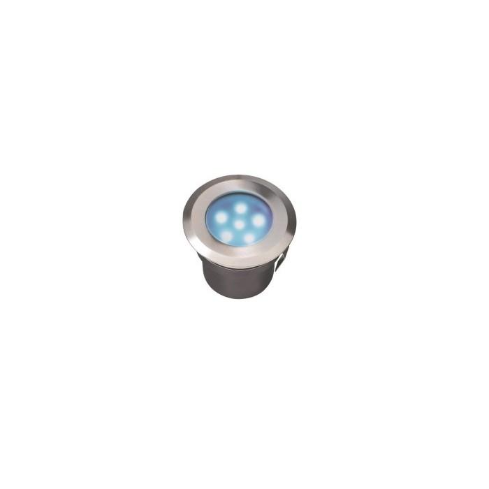 Spot lumineux SIRIUS BLUE en inox 12 volts