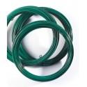Fil de Tension galvanisé Plastique Vert pour Grillage et Clôture - Rouleau de 50 ml