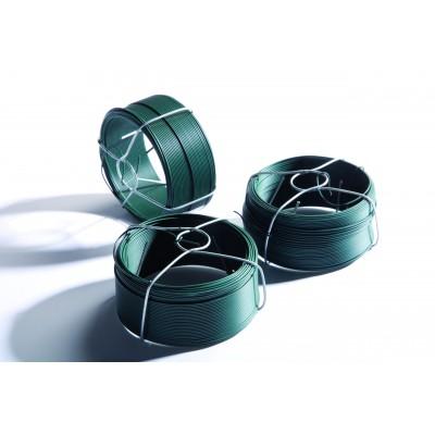 Fil Galvanisé Vert pour grillage et clôture - Rouleau de 50 ml