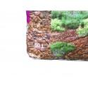 Paillage en écorces de pin maritime 20/40 - Sac de 60L - Palette de 18 sacs
