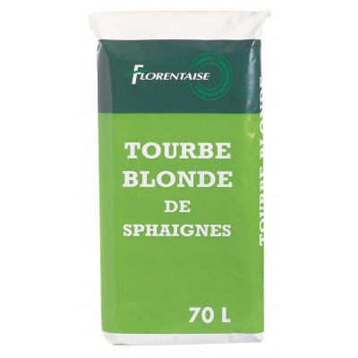 30 sacs de Tourbe Blonde naturelle - Sac de 70L