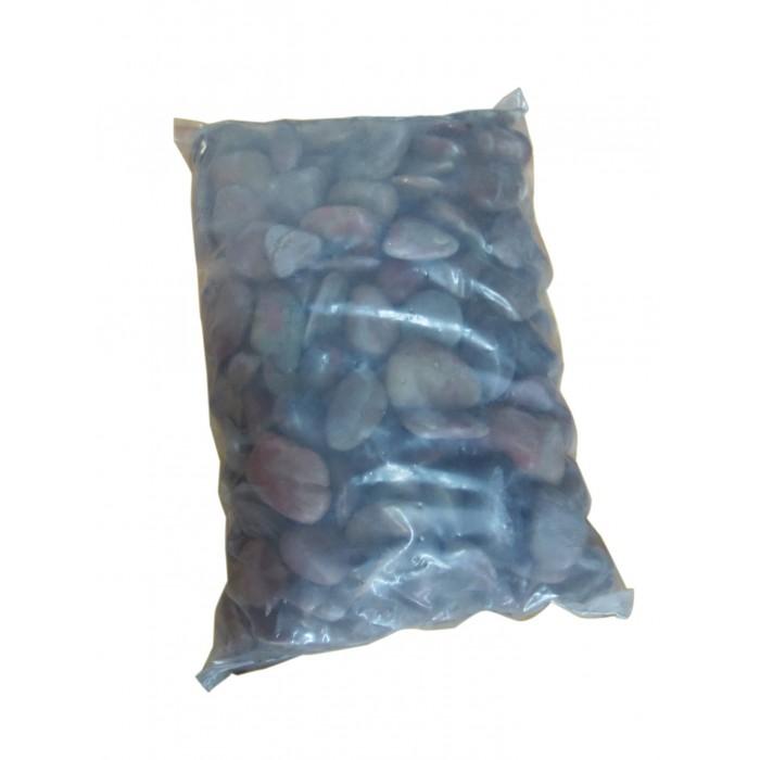 Galets Polis Décoratifs (rouges ou noirs) - Sac de 20 Kg - Palette de 10 sacs