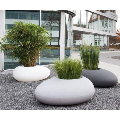 Bac à plantes design en forme de pierre Storus 2
