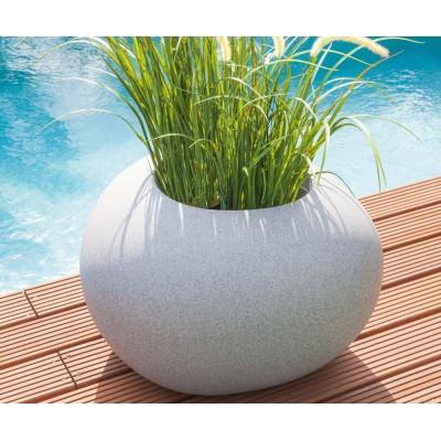 Bac à plantes design en forme de pierre Storus 4